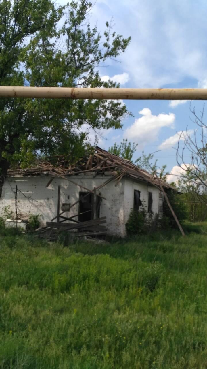 Manuilskijgaten i landsbyen Zajtseve 19. mai 2018
