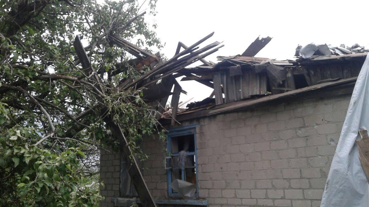 Vernandskagaten i landsbyen Zajtseve 20. mai 2018