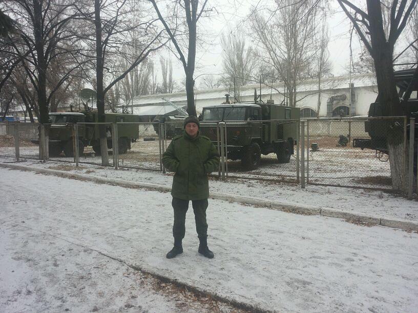 Російська станція супутникового звязку Р-441-ОВ Ливень засвітилася в окупованому Донецьку 11
