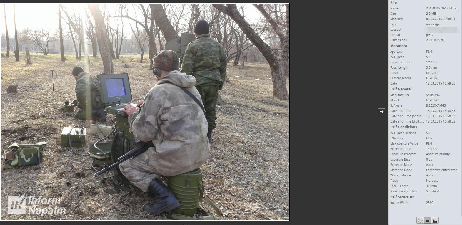PSNR-8 Kredo-M1 wurde in Luhansk zweimal beobachtet