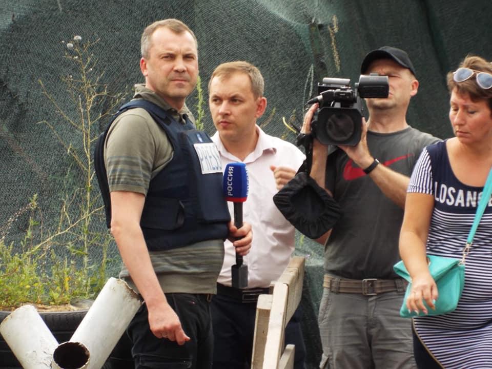 Попов у Станиці Луганській