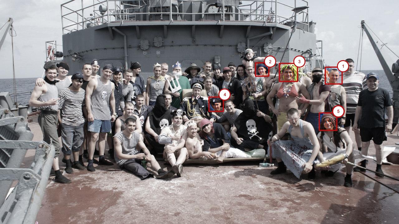 Neptuns dag på landstigningsfartyget Yamal