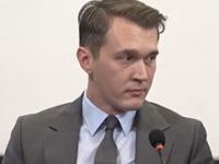 Юрій Гудименко, представник партії «Демократична сокира»