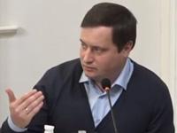 Андрій Юсов, представник «Руху опору капітуляції»