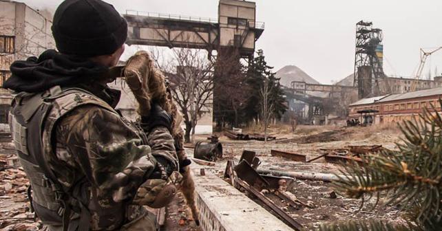 Російський снайпер на Донбасі