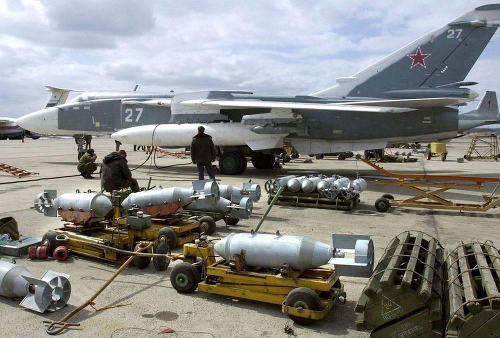 російські військово-повітряні сили в Сирії