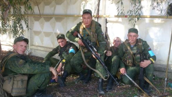 снайпер-розвідник ЗС РФ Віктор Авжинов