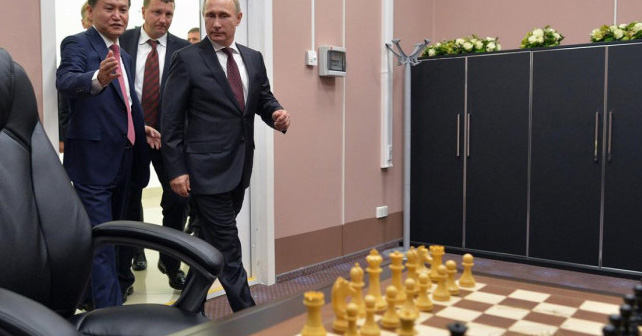 Рокіровки Путіна