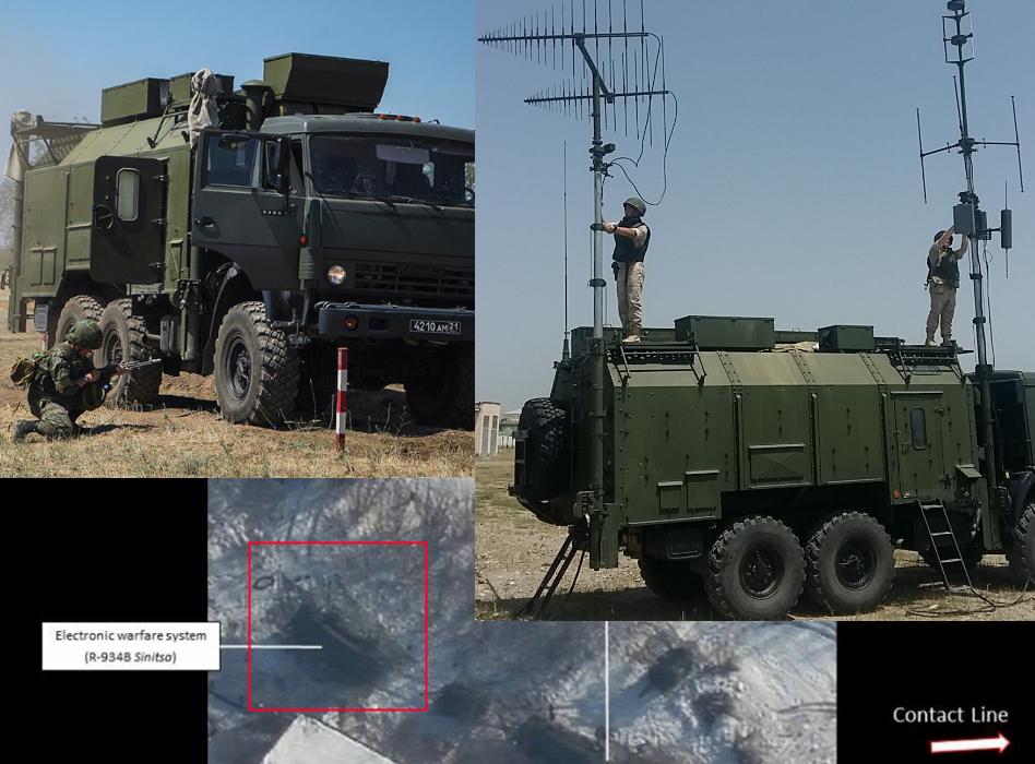 Los sistemas de guerra electrónica rusos en el Donbás comenzaron a aparecer con más frecuencia en las fotos. Datos exclusivos - InformNapalm.org (Español)