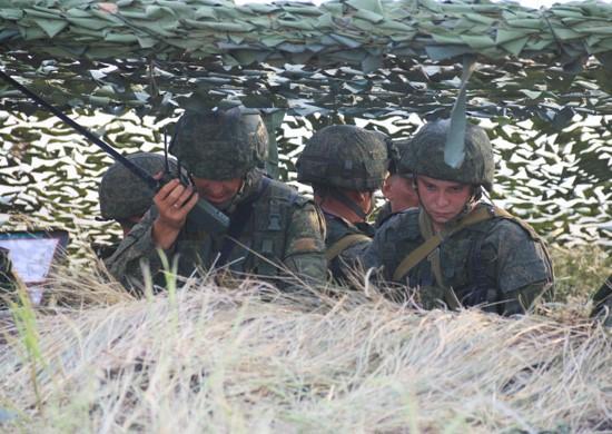 Militära manövrar i det ryska södra militära distriktet. Foto: Det ryska försvarsministeriet