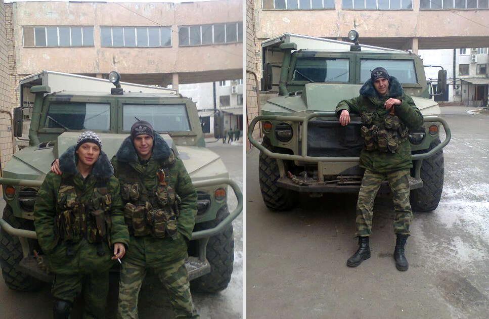Russisches gepanzertes Tigr-Fahrzeug MK-BLA-01