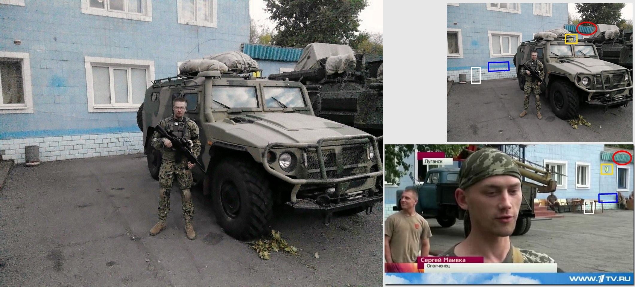 Russisk multifunktionelt pansret Tigr-køretøj MK-BLA-01