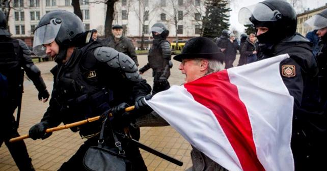 Protester i Hviterussland