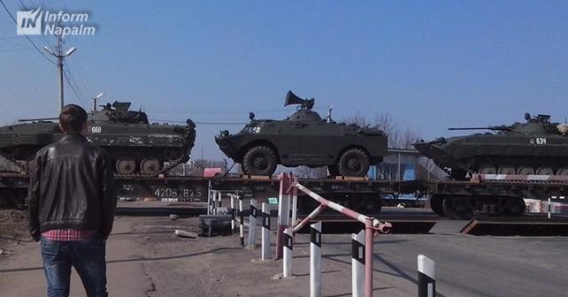 ZS-82 sistemi Donbasdakı Rusiya işğal qüvvələri tərəfindən istifadə olunur