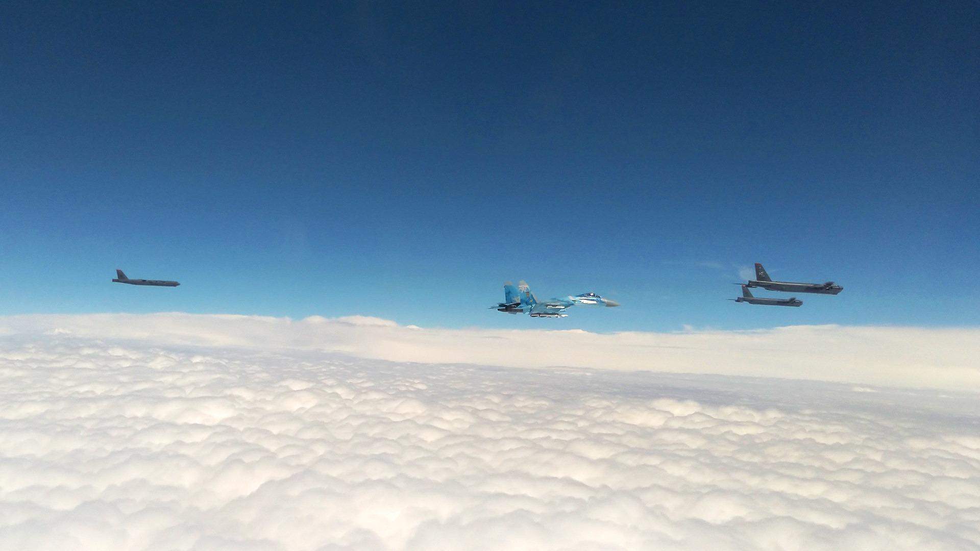 Reduzierung des Appetits Russlands mit US-B-52H-Bombern
