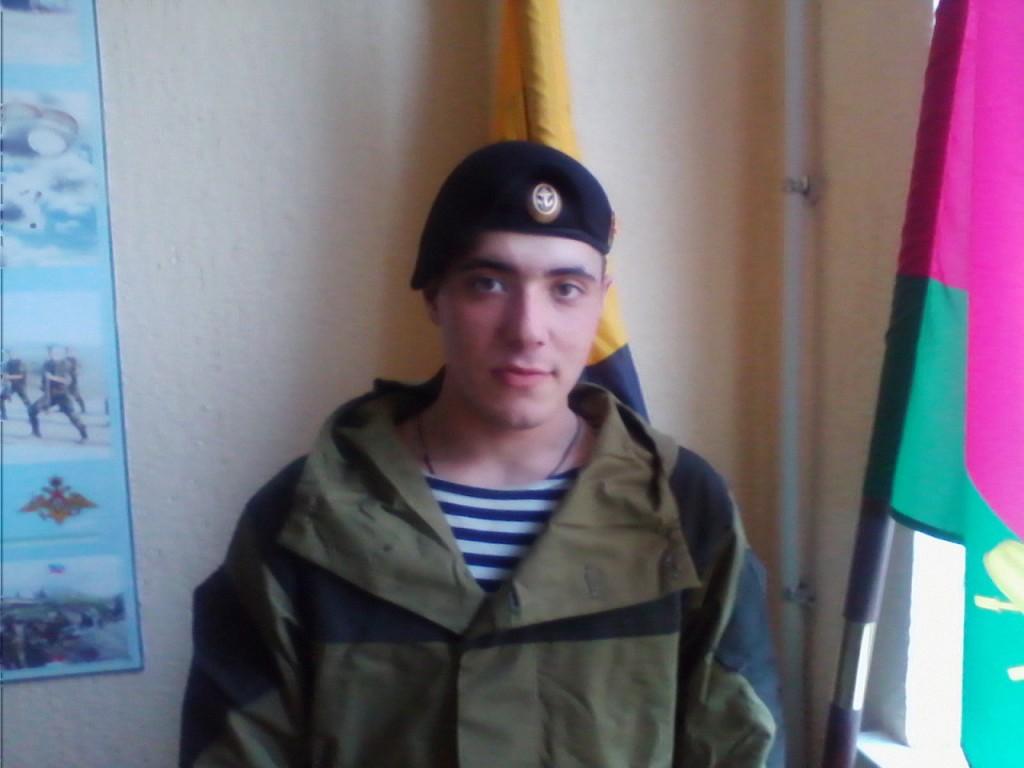 Alexander Below, geboren am 24.02.1993 im Dorf Soldato-Alexandrowskoe, Region Stawropol