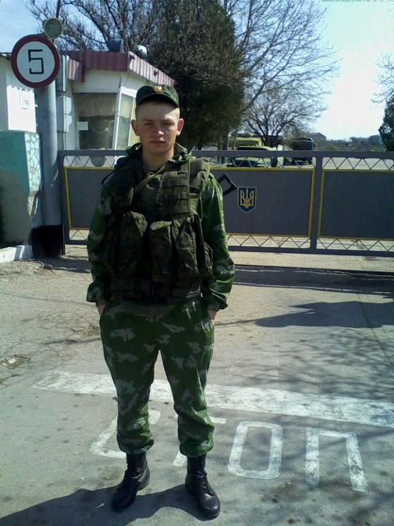 Belbek Luftwaffenstützpunkt im Dorf Ljubimowka auf der Krimhalbinsel