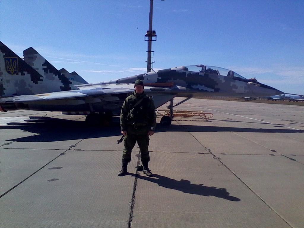 Ukrainskt MiG-29-flygplan