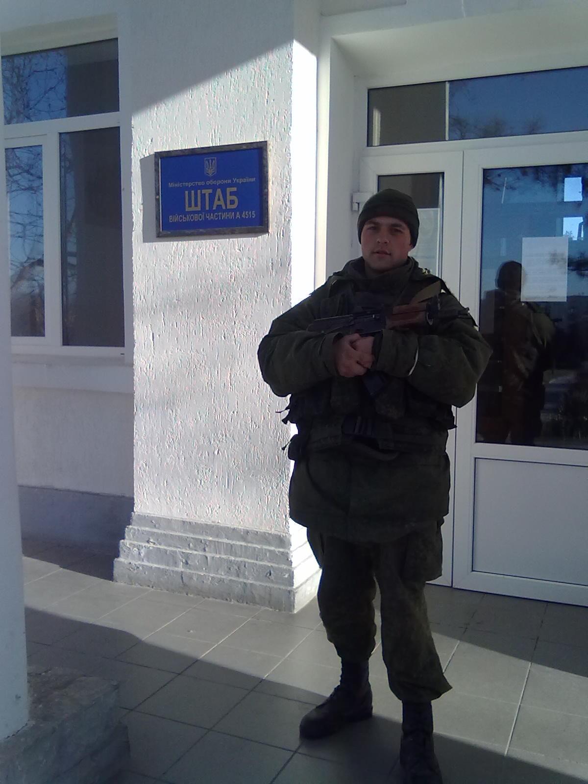 Anton Karmelawicius bei Sewastopols 204. Taktischer Luftbrigade