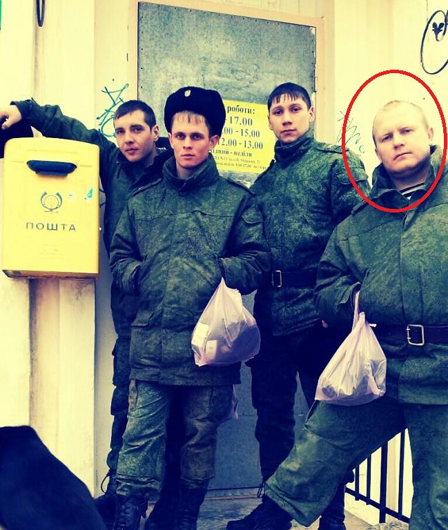 Den ryska soldaten Sergei Valerievitj Popov