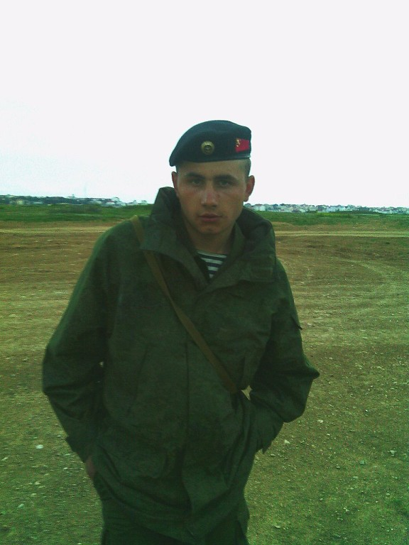 Stanislav Ilyusjtjenko, f. 16.06.1994 i byn Sjkurinskaja, Krasnodar-regionen