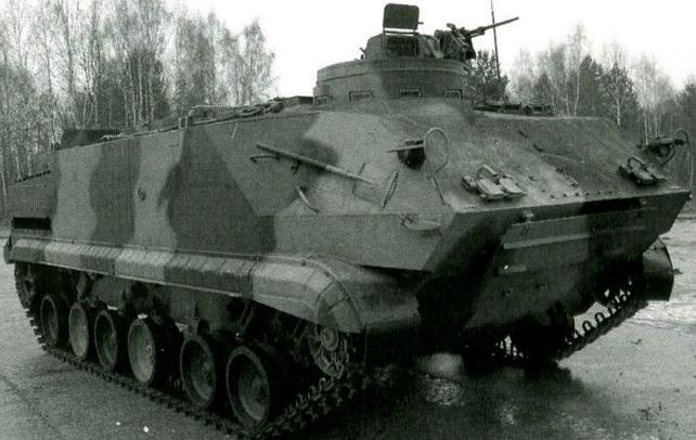 UR-07M minröjningsbandvagn