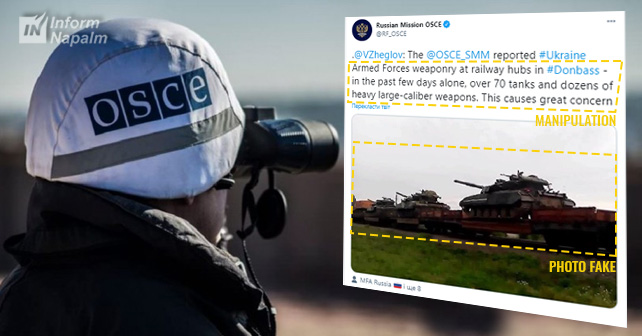 Ruslands OSCE-mission manipulerer fakta