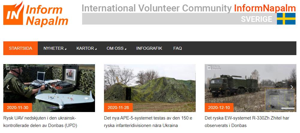 InformNapalm auf Schwedisch