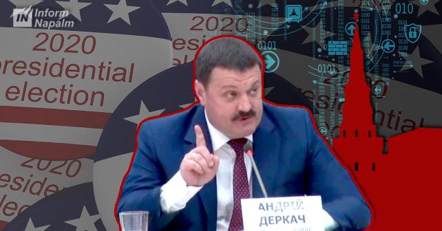 Den ukrainska politikern Andrij Derkatj