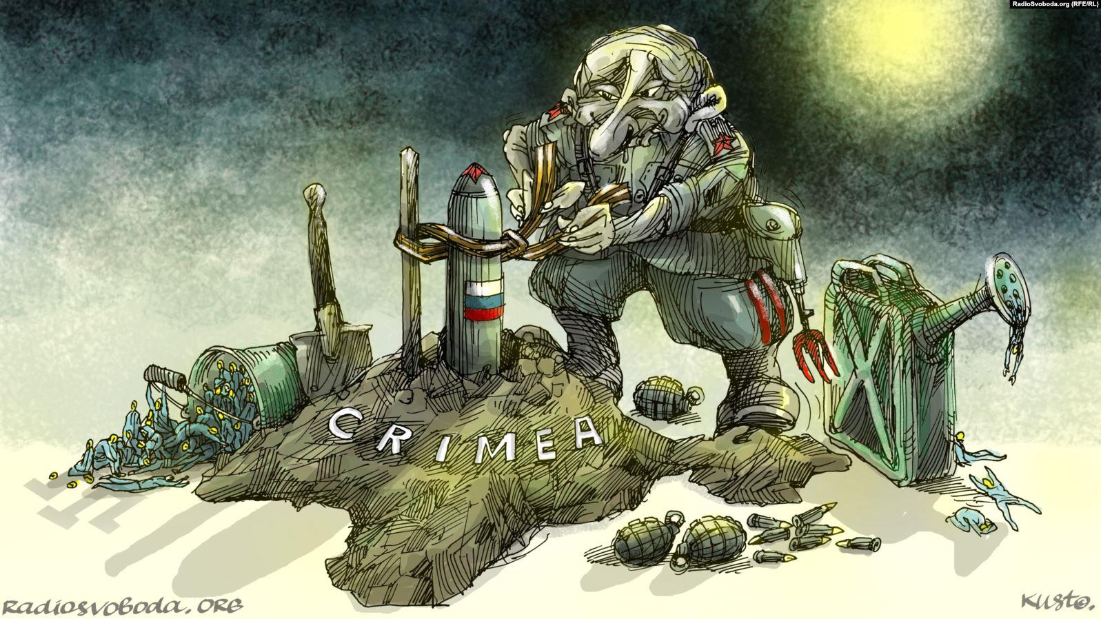 Russian nuclear weapons are already in Crimea? 3