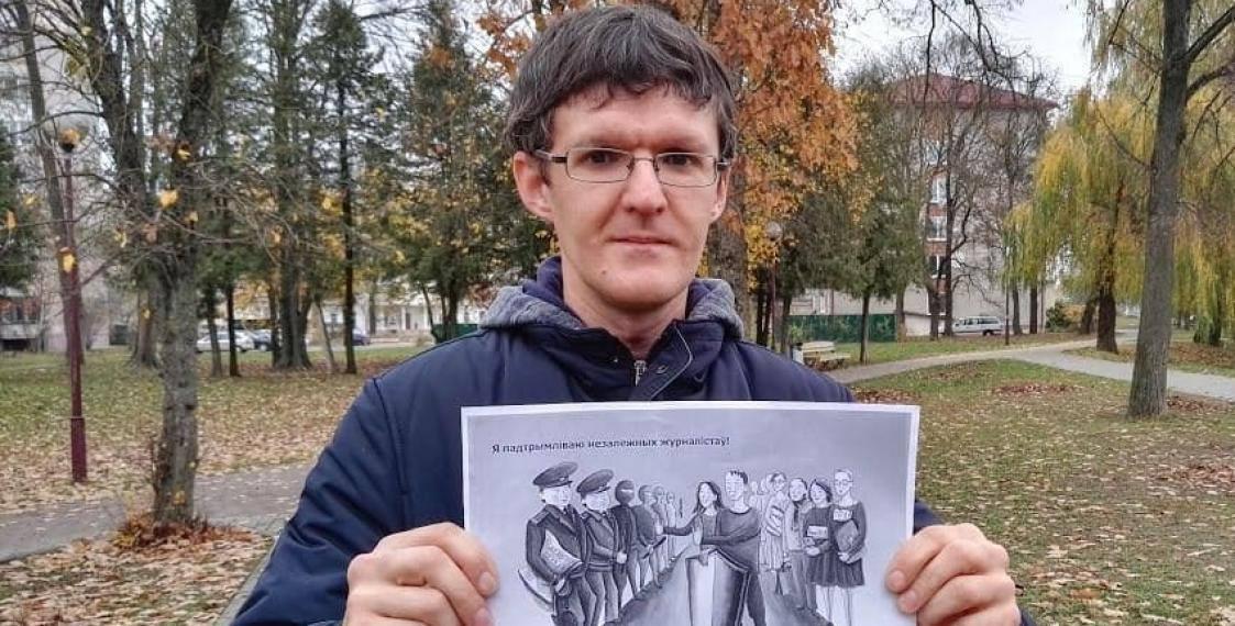 Dzyanis İvaşin hazırda Qrodno Həbsxanası, Kirova küçəsi 1-də saxlanılır