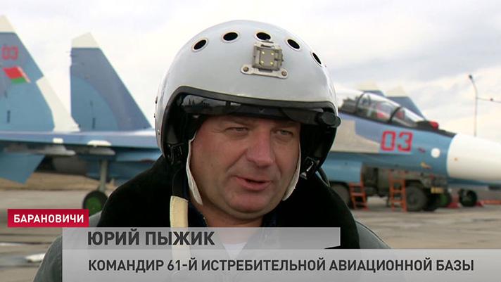 Befälhavaren för den 61:a flygvapenbasen, överste Juri Pyzjik