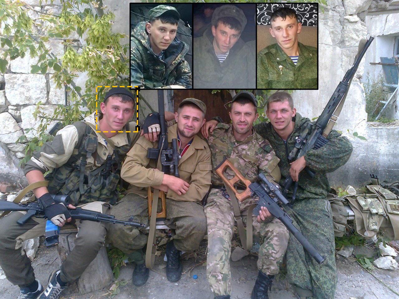 Rais Rakhmaev fra den russiske 15. motoriserede riffelbrigade