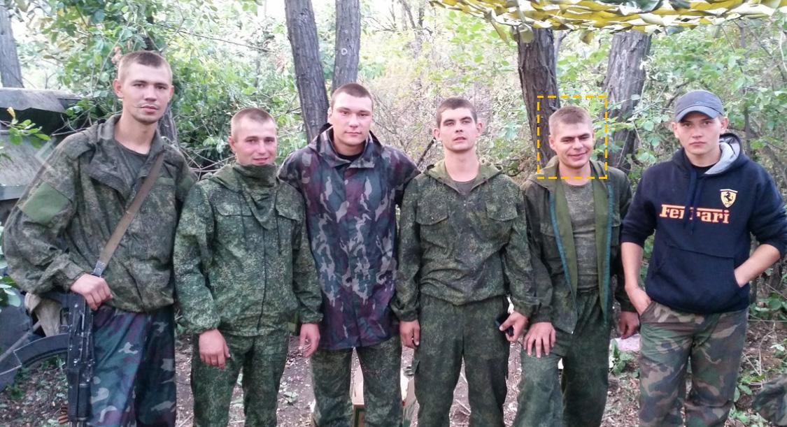 Soldater från den ryska 15:e motorskyttebrigaden i kriget mot Ukraina
