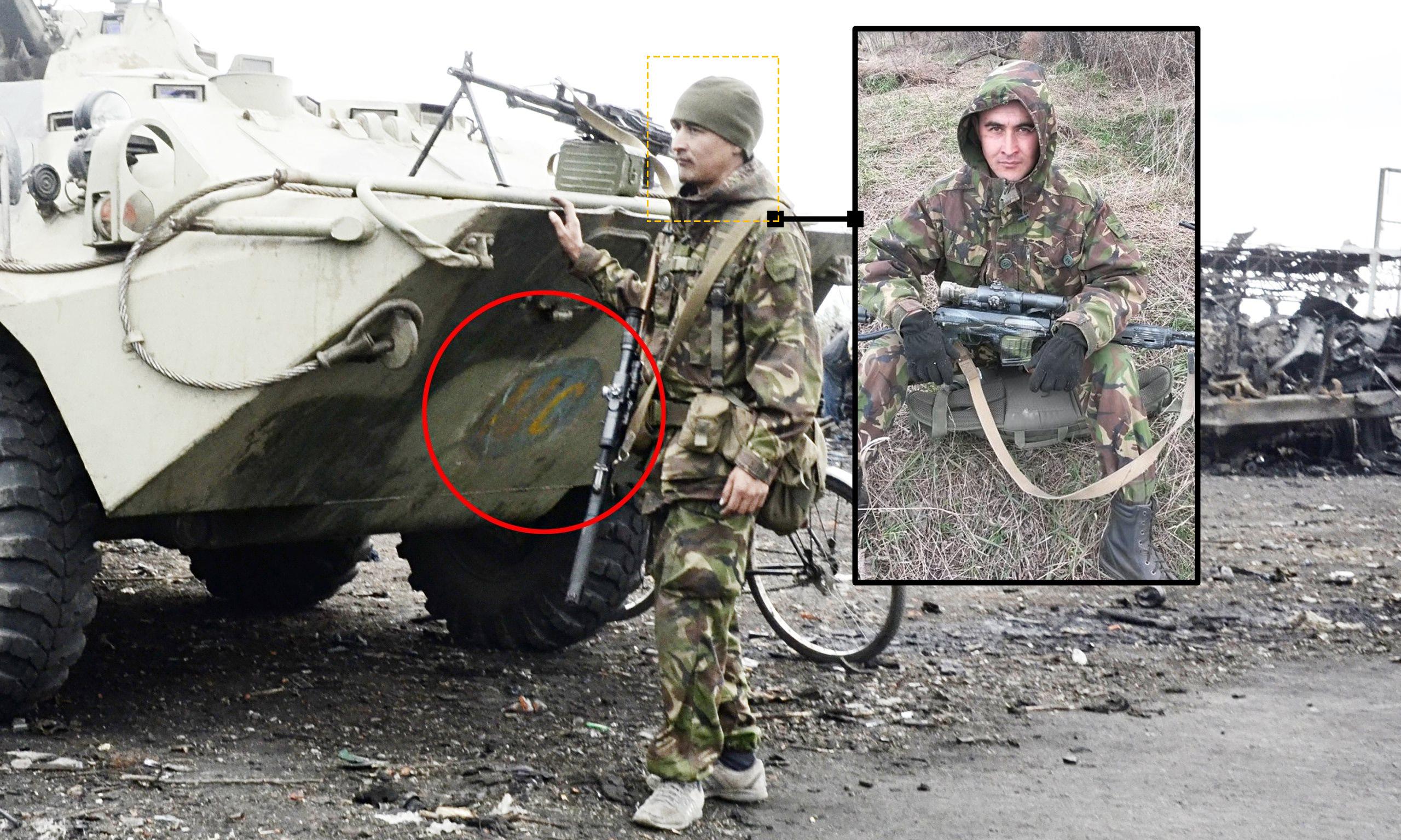 Rustam Faisullin från den ryska 15:e motorskyttebrigaden