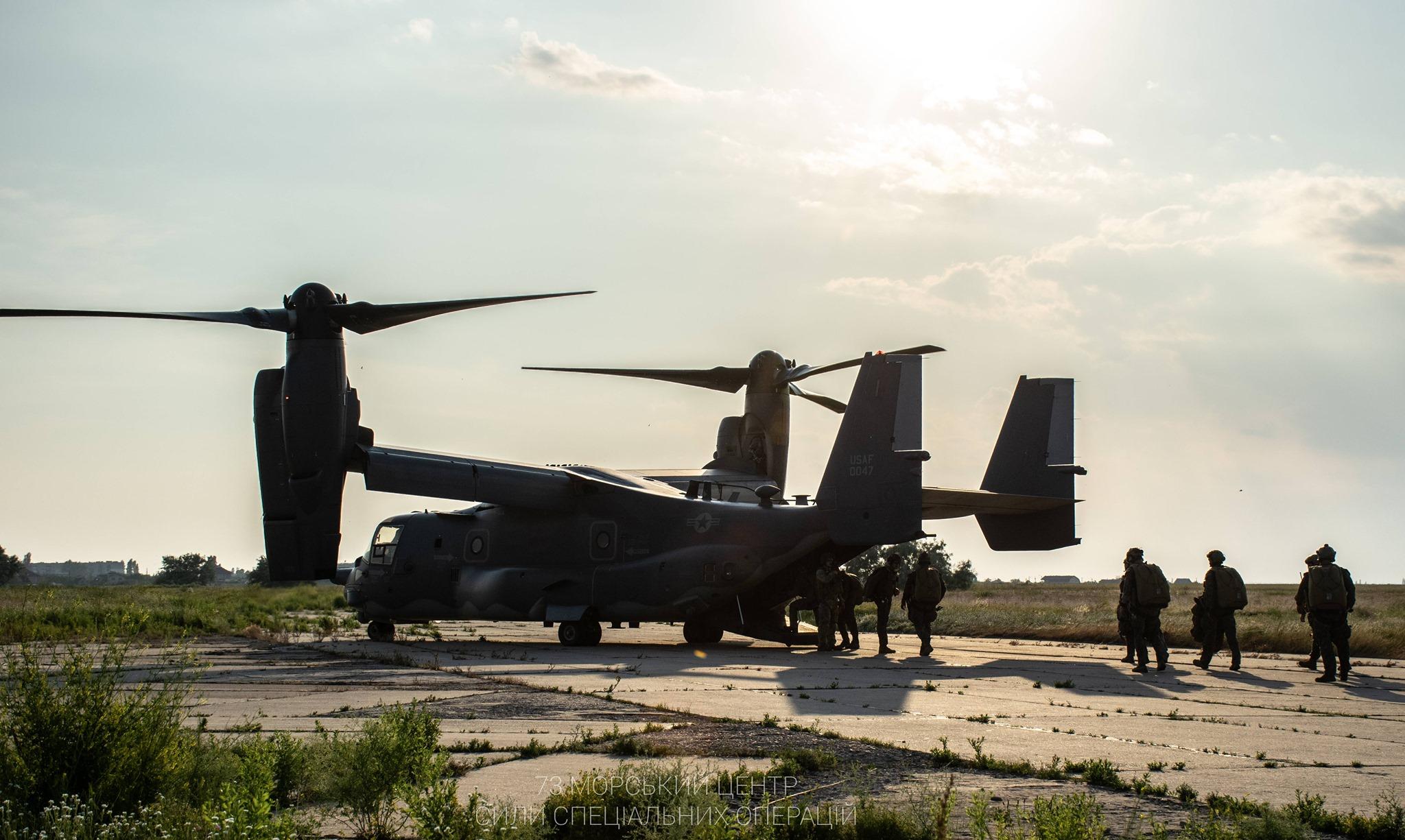 Bell Boeing V-22 Osprey tiltrotor təyyarəsi