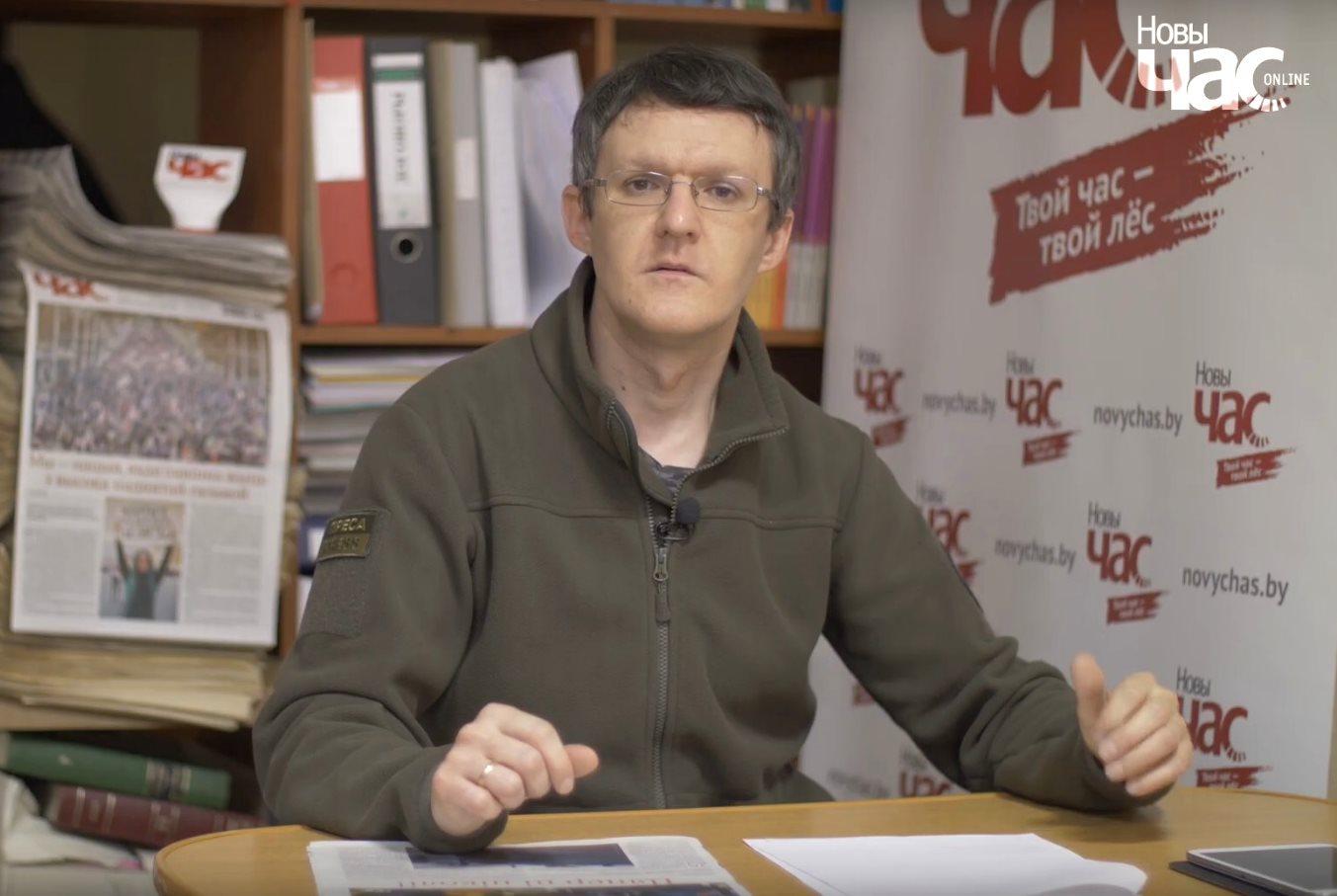 Dzyanis Ivasjyn insisterar på att han inte har begått ett brott