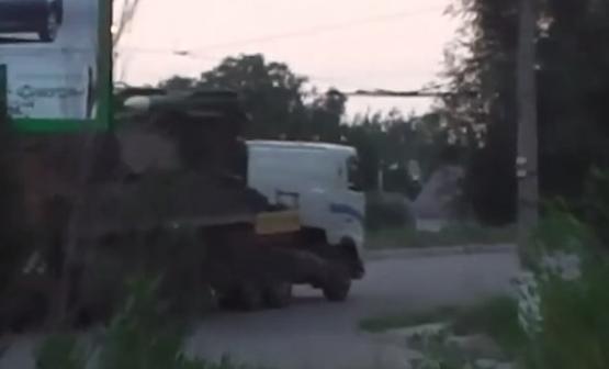 Кадр из видео, опубликованного СБУ