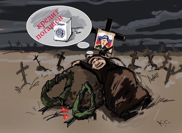 Війна на Донбасі: в Росії розповіли про втрати ЗС РФ в Україні - Цензор.НЕТ 8764