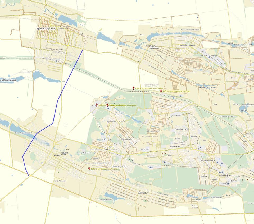 Террористы обстреливают города по выработанному алгоритму (карты)