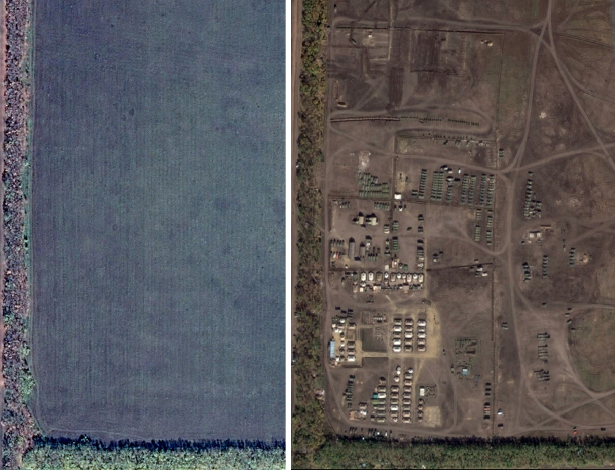 Для сравнения: слева — октябрь 2013, справа — октябрь 2014