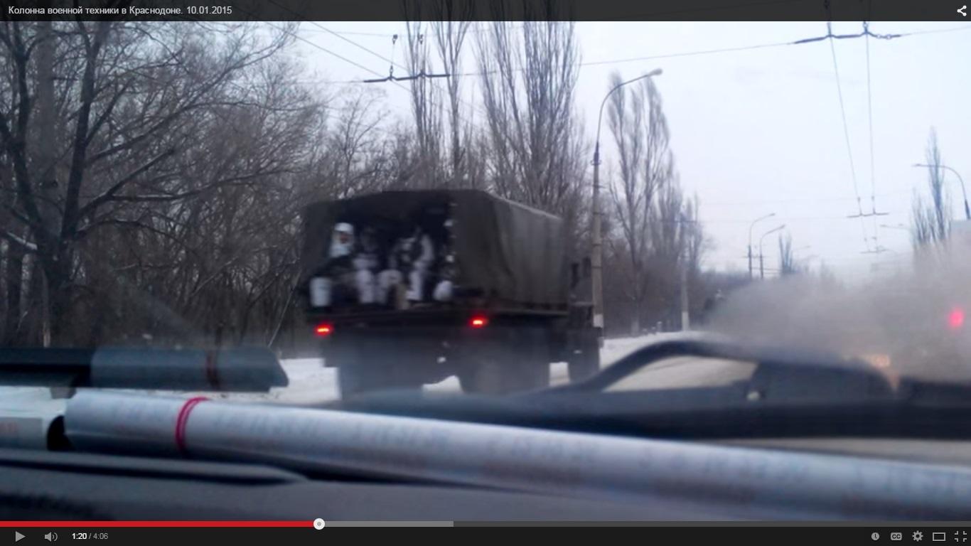 Russische Soldaten, Shweinen, Occupanten