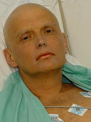 Литвиненко в больнице после отравления в 2006 г