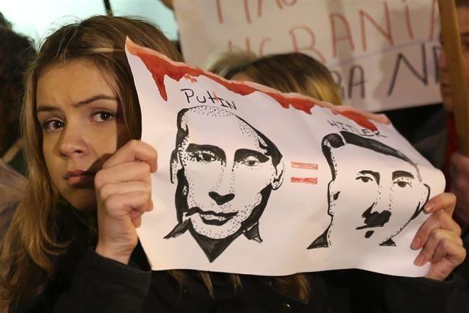 Путин = Гитлер / ЕРА