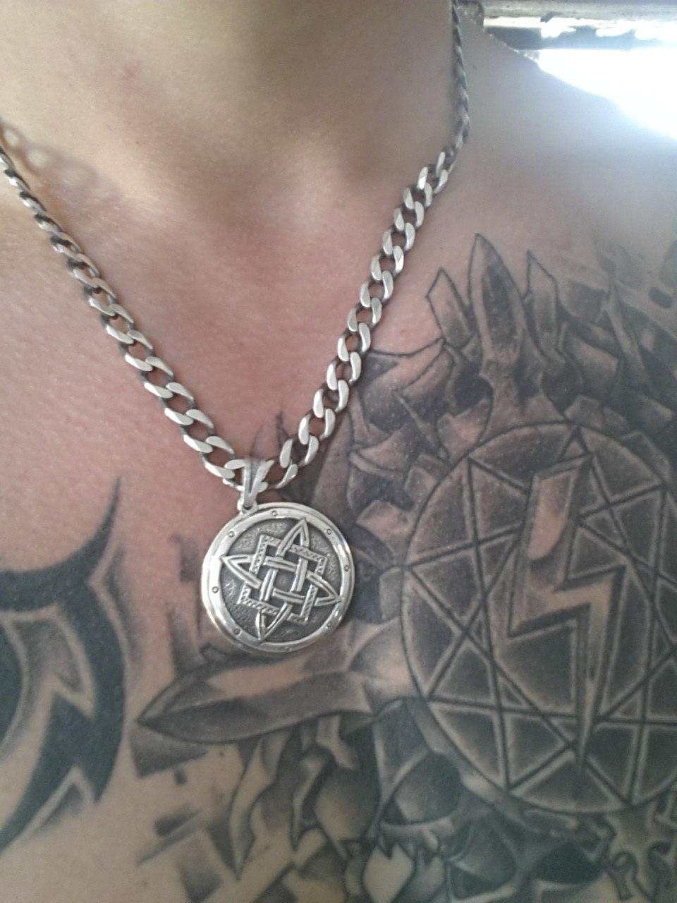 Нео-нацисткий медальон Раменского