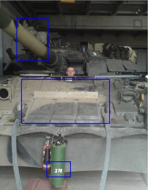 Александр Журавлев на T-80