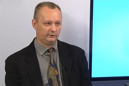 Бывший замминистра иностранных дел ДНР Борис Борисов