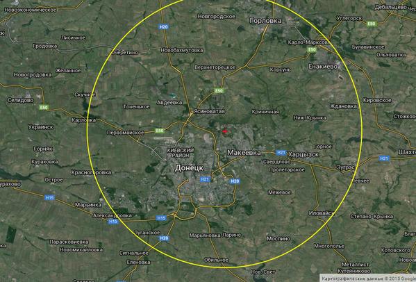 В учебном лагере террористов на окраине Донецка обнаружена радиостанция Р-142Н - Цензор.НЕТ 5719