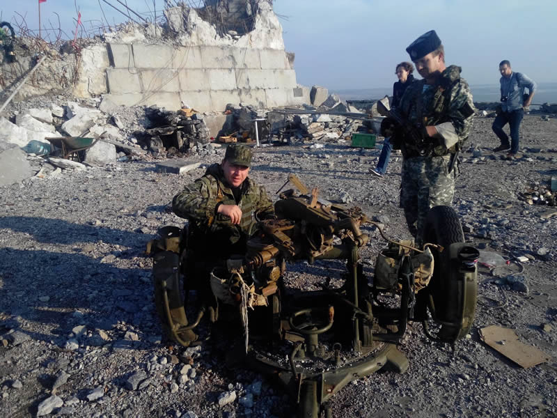 Козырь - командир 1 батальона 7-й бригады ДНР