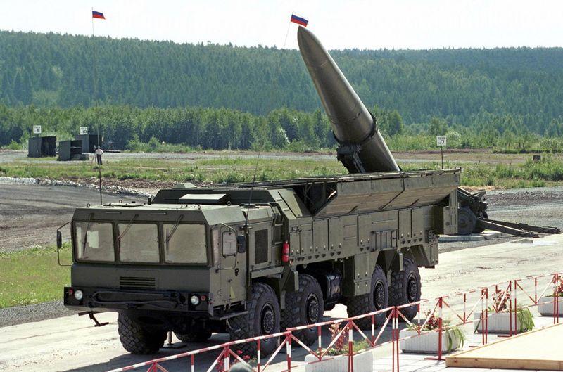 Российская ракетная система Искандер в Сибири (Евгений Стецько/AFP/Getty)